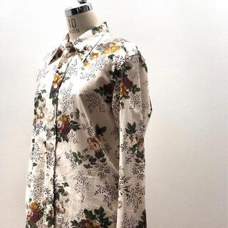 TOMORROWLAND - CABaN コットン フラワープリントシャツ アイボリー 39,600円