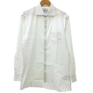 ブルックスブラザース(Brooks Brothers)のBROOKS BROTHERS ブロードドレスシャツ 長袖 16/32 ホワイト(シャツ)