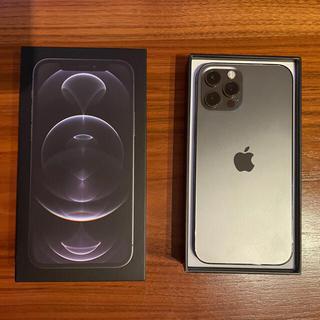 Apple - iPhone 12 pro グラファイト 256 GB SIMフリー