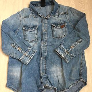 エイチアンドエム(H&M)のH&M デニムシャツ100(Tシャツ/カットソー)