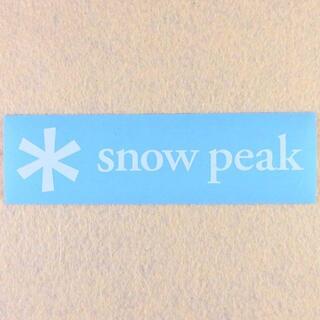 Snow Peak - 全7色!Snow peak カッティングステッカー