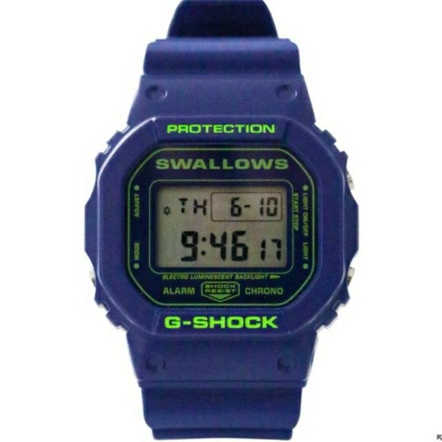 G-SHOCK(ジーショック)の新品未使用 CASIO G-SHOCK  ヤクルトスワローズ メンズの時計(腕時計(デジタル))の商品写真