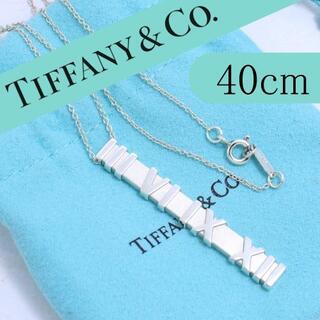 Tiffany & Co. - ティファニー TIFFANY アトラスバーネックレス 40cm
