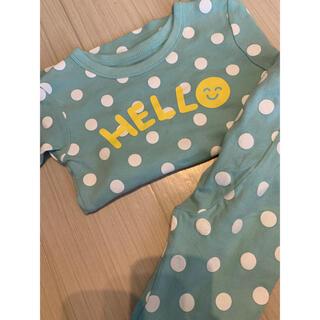 ベビーギャップ(babyGAP)のGAP ミントグリーンのパジャマ(パジャマ)