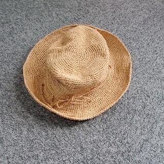 ムジルシリョウヒン(MUJI (無印良品))の良品計画帽子(麦わら帽子/ストローハット)
