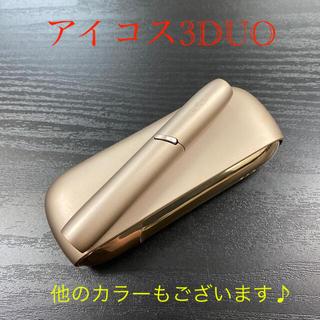 IQOS - A6824番アイコス3DUO本体ホルダーチャージャーセットブリリアントゴールド