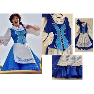 ディズニー ドリーミングアップ 町ベル 美女と野獣 仮装 衣装 ドレス コスプレ(衣装一式)