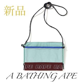 アベイシングエイプ(A BATHING APE)の【新品タグ付】アベイシングエイプ APE メンズ ショルダー バッグ(ショルダーバッグ)