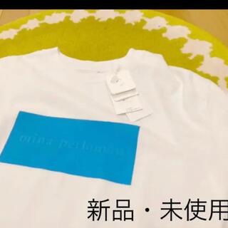 ミナペルホネン(mina perhonen)の【希少/送料込】mina perhonen ミナペルホネン つづく展 Tシャツ(Tシャツ(半袖/袖なし))