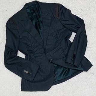 ランバン(LANVIN)の美品☆最上級ライン☆ランバン イタリア製 ジャケット ブレザー メンズ(テーラードジャケット)