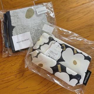 マリメッコ(marimekko)の新品未使用 marimekko ハンカチ&ポーチ(その他)