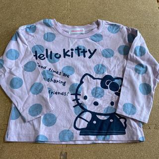 サンリオ(サンリオ)のハローキティ長袖Tシャツ100cm(Tシャツ/カットソー)