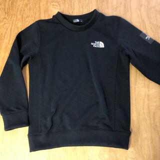 ザノースフェイス(THE NORTH FACE)のノースフェイス キッズ スウェットトレーナー 黒 130(Tシャツ/カットソー)