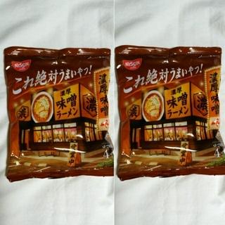 ニッシンショクヒン(日清食品)の2食分 日清食品 これ絶対うまいやつ!濃厚味噌ラーメン(インスタント食品)