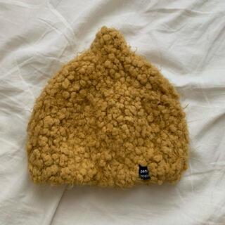 プティマイン(petit main)のpetit main とんがりニット帽(帽子)