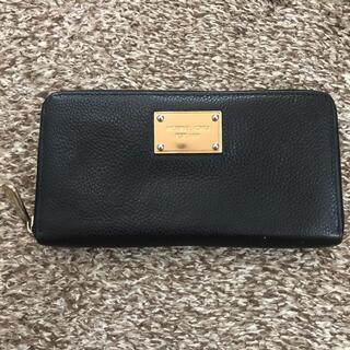 マイケルコース(Michael Kors)のマイケルコース長財布レザー黒(長財布)