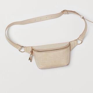H&M - H&M クロコダイルパターンウエストバッグ