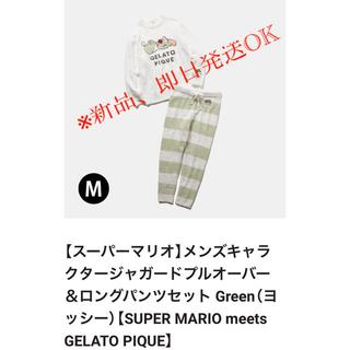 gelato pique - 【メンズMサイズ】 キャラクタージャガードプルオーバー&ロングパンツセット