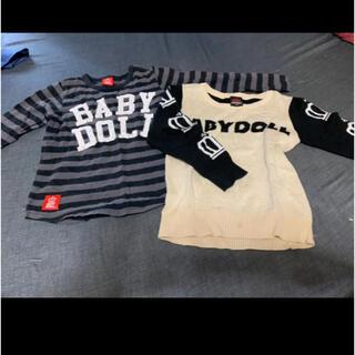 ベビードール(BABYDOLL)のベビードール  110cm  2枚セット(Tシャツ/カットソー)