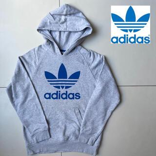 adidas - アディダス【adidas】ビッグプリント トレフォイルロゴ フーディ