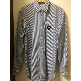 コムデギャルソン(COMME des GARCONS)のプレイコムデギャルソン ストライプシャツ(シャツ)