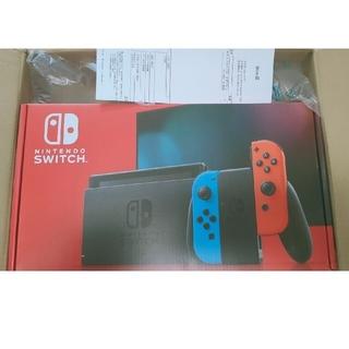 Nintendo Switch - Nintendo Switch JOY-CON(L) ネオンブルー/(R) ネオ