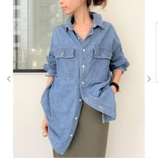 L'Appartement DEUXIEME CLASSE - 【REMI RELIEF/レミレリーフ】Chambray シャツ