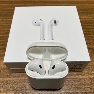 Apple - 【イヤホン+イヤホンケース】Apple AirPods エアーポッズ 第一世代