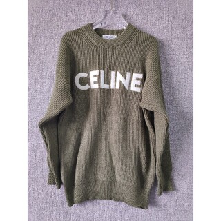 celine - 人気色セリーヌ CELINE セーター  男女兼用