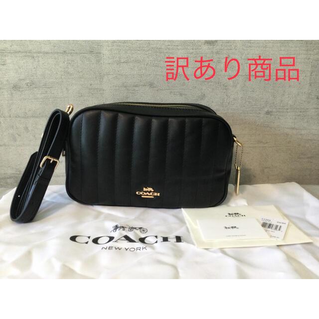 COACH(コーチ)の訳あり品 新品 COACH コーチ ショルダーバッグ ブラック カメラバッグ レディースのバッグ(ショルダーバッグ)の商品写真