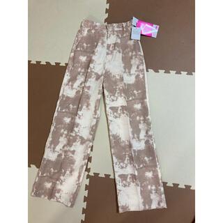 しまむら - 新品タグ付き しまむら 2PINK タイダイ柄パンツ Mサイズ