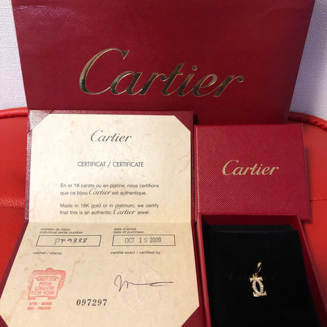 Cartier(カルティエ)のカルティエ チャーム 美品 レディースのアクセサリー(チャーム)の商品写真