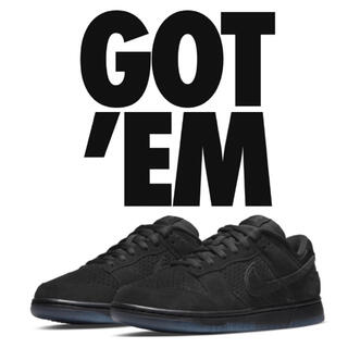 NIKE - NIKE DUNK LOW UNDEFEATED 5 ON IT BLACK