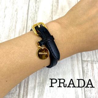 プラダ(PRADA)のPRADA プラダ サフィアーノ ブレスレット 9-40(ブレスレット/バングル)