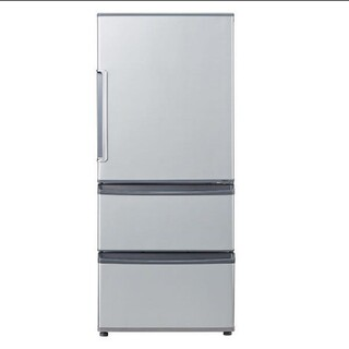 冷蔵庫 AQUA シルバー レンジが置けちゃうコンパクトサイズ 自炊向きサイズ