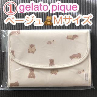 gelato pique - おうちリラックスクマモチーフ母子手帳ケースM◆ジェラートピケ◆通帳ポーチ