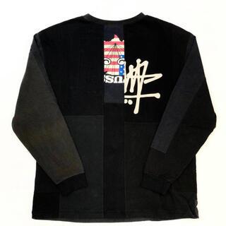 ステューシー(STUSSY)のold Stussy Rebulding long sleeve T-shirt(Tシャツ/カットソー(七分/長袖))