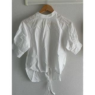 グレイル(GRL)のGRL バックリボンブラウス(シャツ/ブラウス(半袖/袖なし))