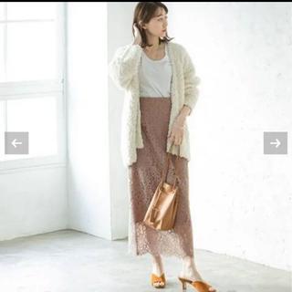 ノーブル(Noble)の探してます NOBLE リバーレースIラインスカート◆(ロングスカート)