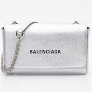 バレンシアガ(Balenciaga)の『美品』バレンシアガ シルバー ショルダーバッグ(ショルダーバッグ)