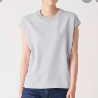 ムジルシリョウヒン(MUJI (無印良品))の【無印良品】丈夫で洗える ニットTシャツ(Tシャツ(半袖/袖なし))