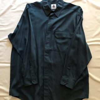 ランバン(LANVIN)のランバン シルクドレスシャツ(長袖)(シャツ)