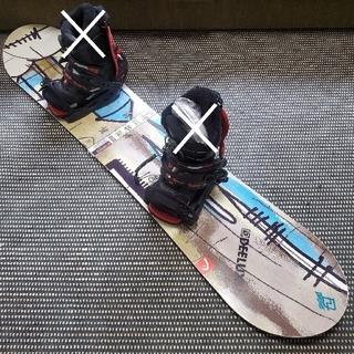 ヘッド(HEAD)のスノーボード 128 head ヘッド 子供 キッズ ジュニア ブーツ バイン(ボード)