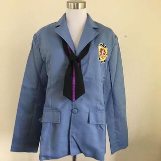 アニメ 学園系 コスプレ ハロウィン ブレザー 制服 Mサイズ(衣装一式)