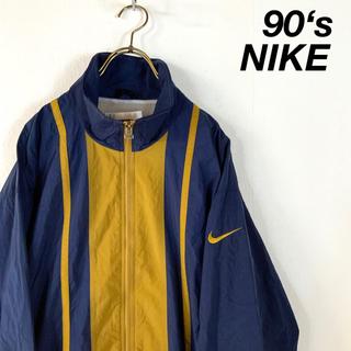NIKE - 90's NIKE 銀タグ ビッグサイズ バイカラー  ナイロンジャケット