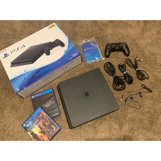 PlayStation4 - PlayStation®4 ブラック 500GB CUH-2100AB01