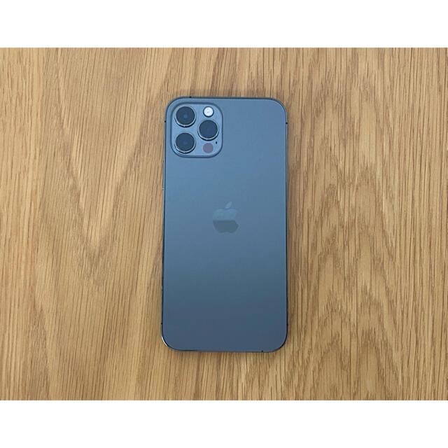iPhone(アイフォーン)のiPhone 12 Pro 128GB グラファイト SIMフリー 美品 スマホ/家電/カメラのスマートフォン/携帯電話(スマートフォン本体)の商品写真
