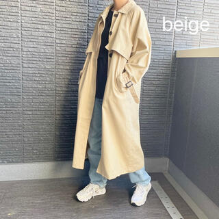 moussy - stand collar twill coat