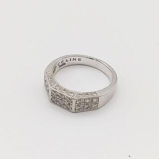 celine - G-359 CELINE/セリーヌ リング  指輪 pt900 ダイヤモンド