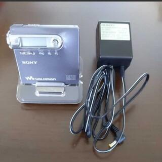 ウォークマン(WALKMAN)のSONY ソニー Net MDウォークマン MZ-N10 ポータブルMDプレーヤ(ポータブルプレーヤー)